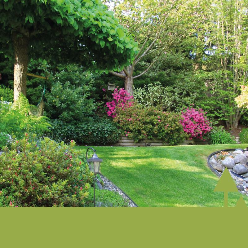 Garten- und Landschaftsbau moderner Garten